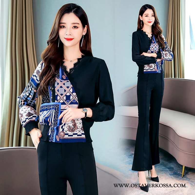 Paidat Naisten Tummansininen Liitos Pullover Takki Uusi 2020 Tummansiniset