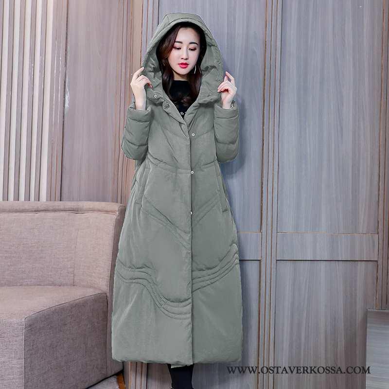 Halvat talvitakki naisten talvi, kevyt, vintage, hupullinen