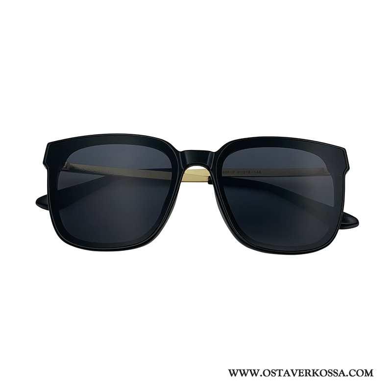Aurinkolasit Miesten Vintage Tide-brändi Uv Musta Street Ampuminen Miehet Naiset Kuljettajille Musta