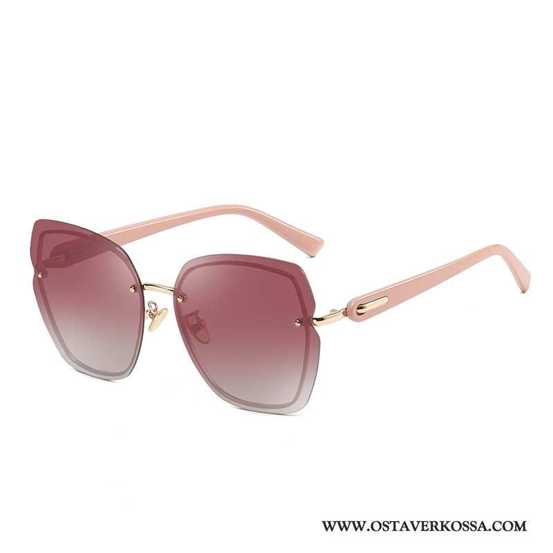 Aurinkolasit Naisten Skinny Uusi Iso Polarisoivasta Pinkki Uv Trendi Aurinkolasit
