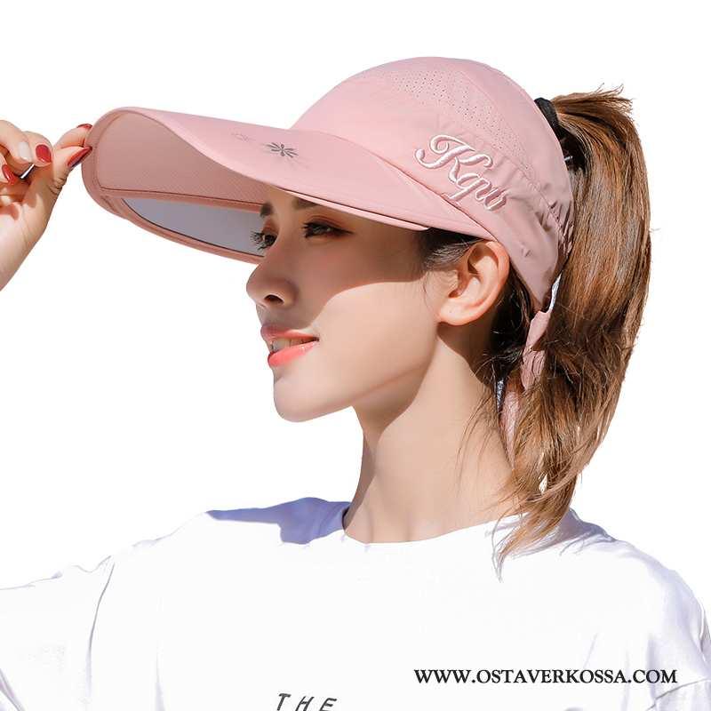 Hatut Naisten Muoti Pinkki Aurinkosuoja Aurinkohattu Naiset Hattu Violetti Baseball-korkki