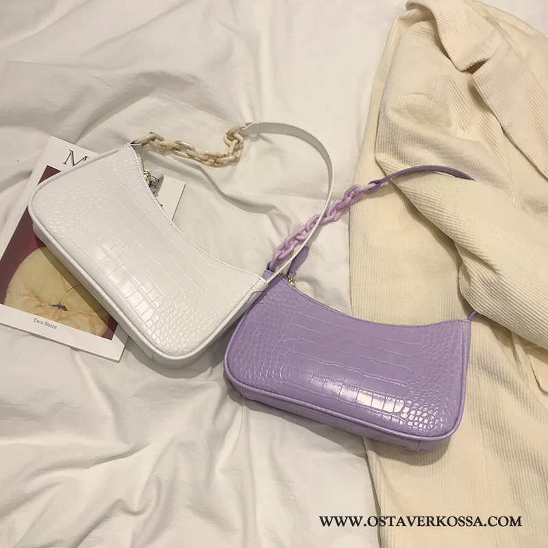 Olkalaukku Naisten Naiset Trendi Violetti Uusi Pieni Rintaliivit Käsilaukku Ultra Tyylikäs