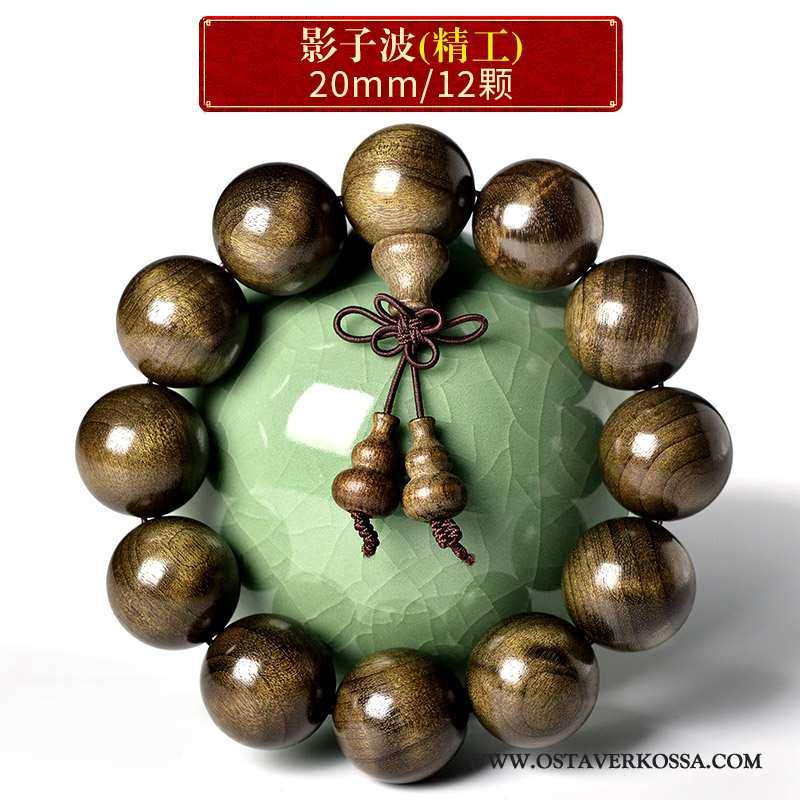 Rannekoru Miesten Kulta Ruskea Buddha Rannerengas Puulajit Miehet
