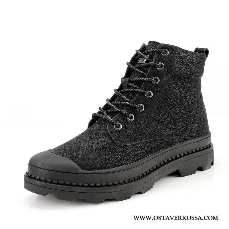 Saappaat Miesten Kesä Miehet Iso Ultra Korkea Kengät Musta Keskimääräinen Numero Suuri Koko Mustat